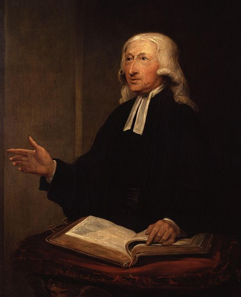 Portrait of John Wesley by William Hamilton