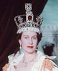 Photo of coronation of Queen Elizabeth the Second