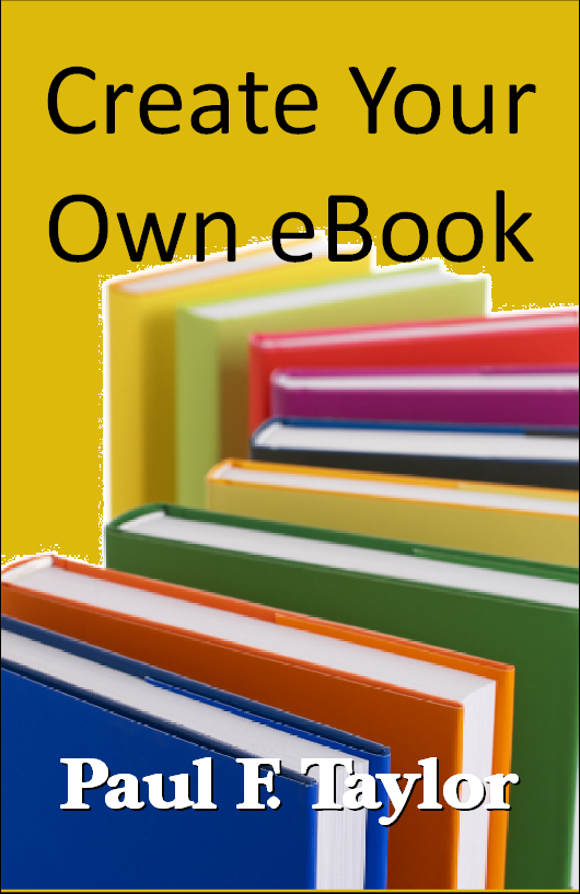 Creating Your Own eBook - front