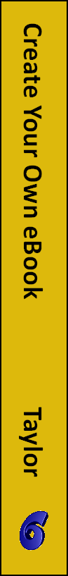 Creating Your Own eBook - spine
