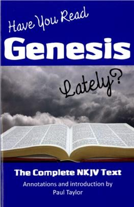 Have You Read Genesis Lately?