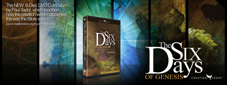 Six Days of Genesis DVDs