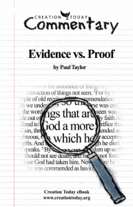 Evidence vs Proof