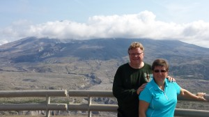 Geri and Paul and the Volcano