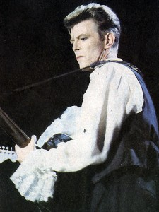 David Bowie in Chile